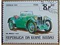MG Midget 1932 znaczek
