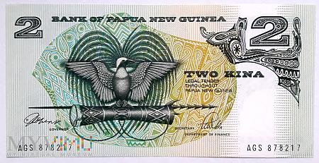 Papua Nowa Gwinea 2 kina 1981