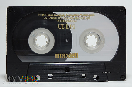 MAXELL UDII 90 kaseta magnetofonowa