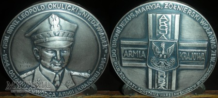 016.NIEDŹWIADEK-Gen.Bryg.Leopold Okulicki.Wersja I