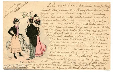 1900 Jacques WELY Rower i moda schyłku XIX wieku