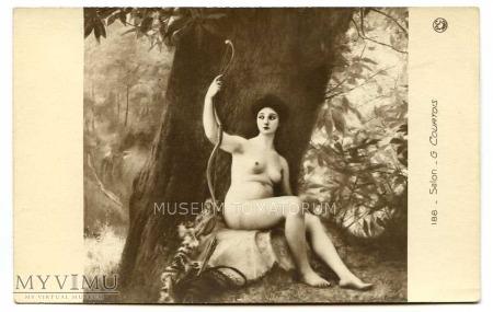 Gustave Courtois - Diana - odpoczynek