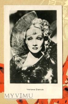 Marlene Dietrich Łotwa Pocztówka Devil is a Woman