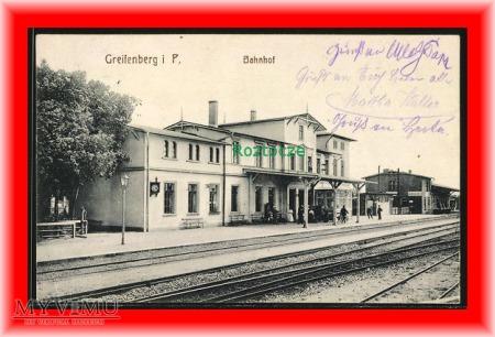 GRYFICE Greifenberg Dworzec kolejowy