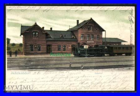 GODKÓW Jädickendorf Dworzec kolejowy