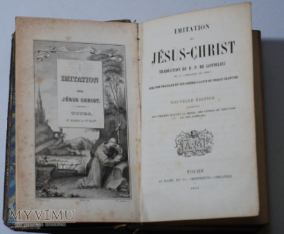 IMITATION de JESUS CHRIST 1836 TOURS