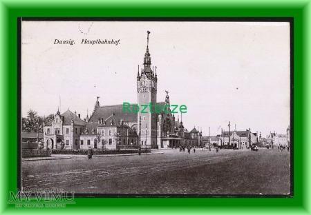 GDAŃSK Danzig , Dworzec kolejowy