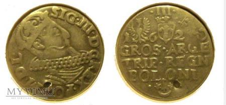 Trojak Zygmunt III Waza I 1620