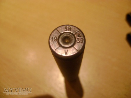 Łuska czechosłowacka Mauser