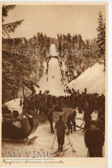 Krynica - Skocznia narciarska - 1937