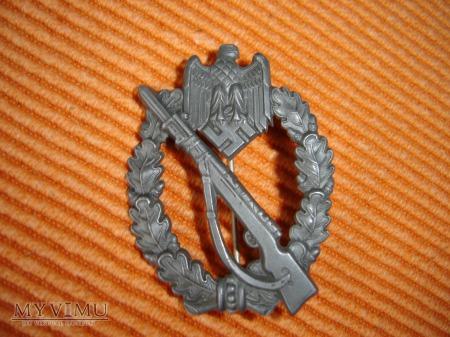 Duże zdjęcie Odznaka Szturmowa Piechoty Srebrna