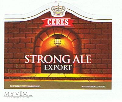 ceres strong ale export