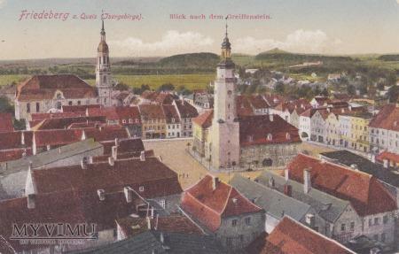 Duże zdjęcie Pocztówka Friedeberg a. Queis Jsergebirge (Mirsk)