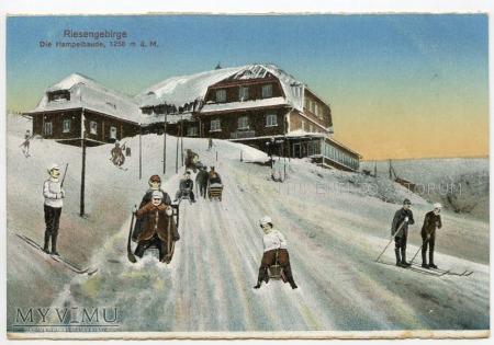 Karkonosze Strzecha Akademicka Hampelbaude 1910