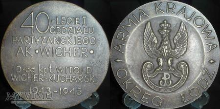 116. 40-lecie I Oddziału Partyzanckiego AK WICHER