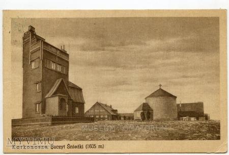 Duże zdjęcie Karkonosze Śnieżka Schneekoppe 1949