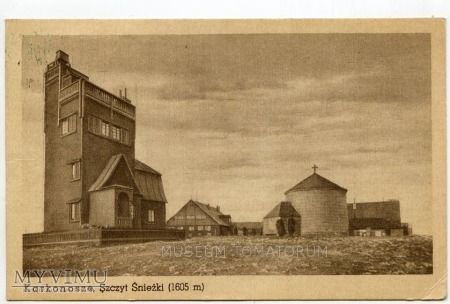 Karkonosze Śnieżka Schneekoppe 1949