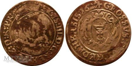 Grosz gdański Zygmunt III Waza I 1627