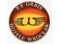 Nalepka hotelowa - Wrocław - Hotele P.P. Orbis