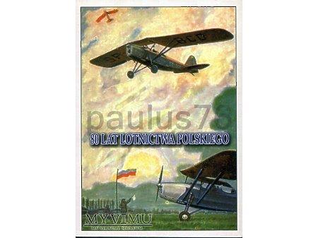 80. lat Lotnictwa Polskiego, RWD-8