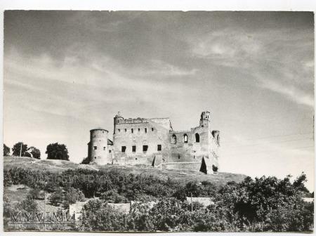 Duże zdjęcie Golub - Dobrzyń - Zamek - lata 60-te