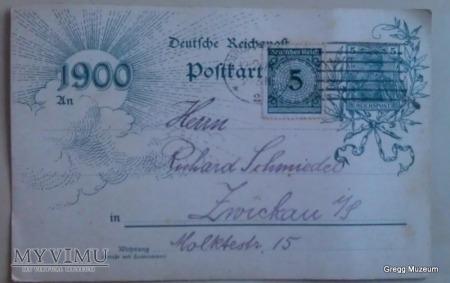 Niemiecka karta pocztowa 1924r.