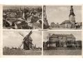 Pocztówka cztero obrazkowa - 1939 r.