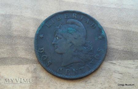 2 Centavos 1891 Argentyna