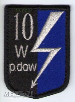 Emblemat 10 Wrocławski Pułk Dowodzenia