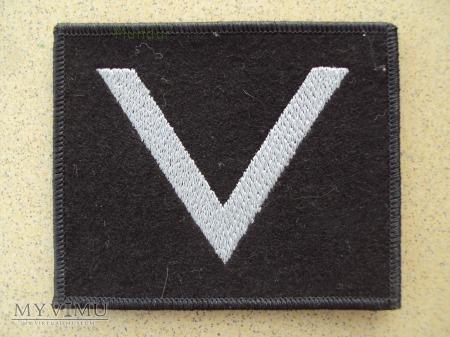 Oznaka stopnia na kurtkę - sierżant