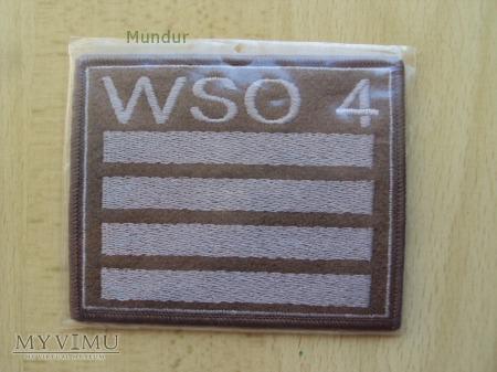 Oznaka stopnia na kurtkę - WSO 4