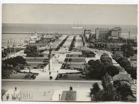 Gdynia - Skwer Kościuszki - 1962