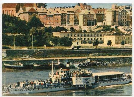 W-wa - Wisła - Stare Miasto - statek - 1962