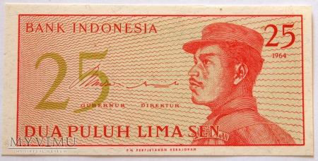 Indonezja, 25 SEN 1964r