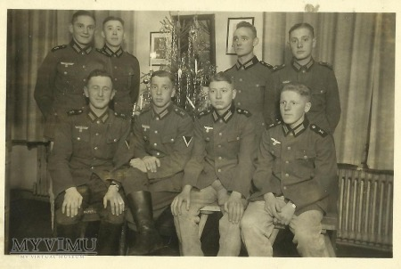 Żołnierze niemieccy - Święta Bożego Narodzenia