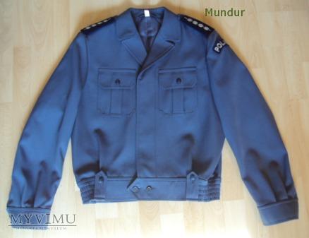 Bluza służbowa gabardynowa policji