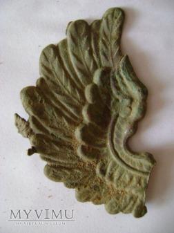 skrzydło orła z pickelhaube