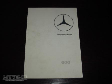 Prospekt MERCEDES 600 (W100)