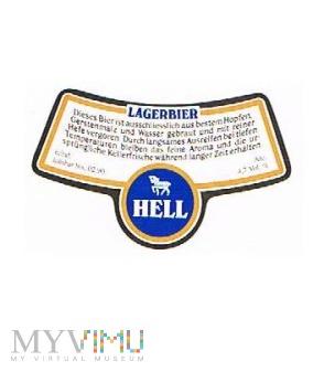 lagerbier hell - krawatka