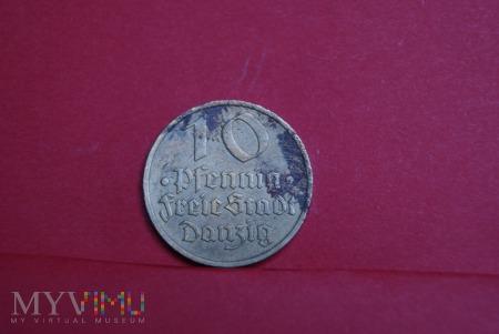 10 Pfennig Freie Stadt Danzing 1932