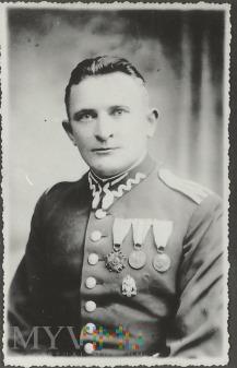 Starszy wachmistrz Bronisław Lisiecki 25 p. ułanów