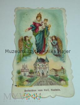Duże zdjęcie Święty obrazek ANDENKEN HOSTEIN