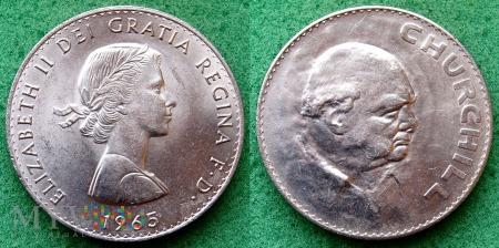 Wielka Brytania, 1 crown 1965