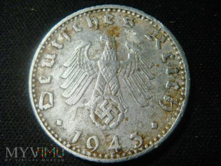 50 Reichspfennig 1943 , A