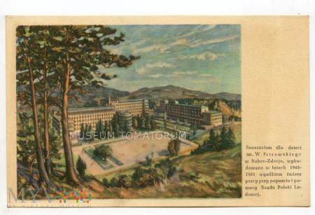 Rabka 1951. Sanatorium Pstrowskiego