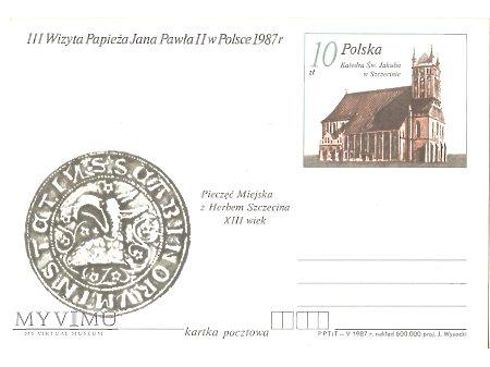 III WIZYTA PAPIEŻA JANA PAWŁA II W POLSCE 1987 7