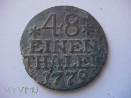 48 einen thaler, 1779, A