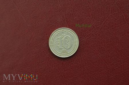 Moneta turecka: 10 kurus