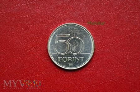 Moneta węgierska: 50 forint