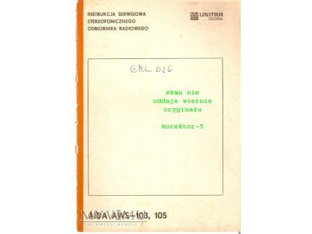 Instrukcja radia AIDA